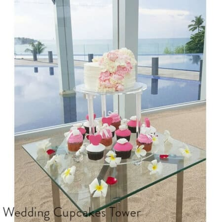 WEdding Cake Cupcakes Bali Best Delivery Custom